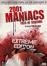 Jaquette 2001 Maniacs : Field of Screams