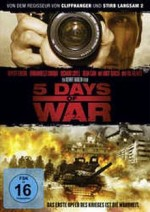 Jaquette 5 Days of War