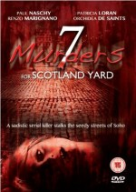 Jaquette 7 Murders For Scotland Yard