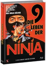 Jaquette 9 Deaths of the Ninja (Blu-Ray+DVD) - Cover A