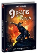 Jaquette 9 Deaths of the Ninja (Blu-Ray+DVD) - Cover C