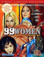 Jaquette 99 WOMEN (3-Disc Limited Edition – inclus Les Brûlantes en bonus Bluray et VF)