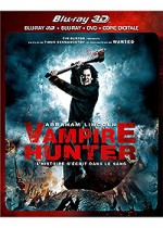 Jaquette Abraham Lincoln, Vampire Hunter (Combo Blu-ray 3D + Blu-ray + DVD + Copie digitale)