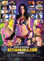 Jaquette Actiongirls.Com - Volume 7 EPUISE/OUT OF PRINT
