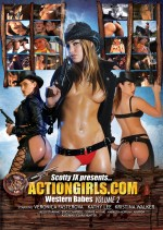 Jaquette Actiongirls.com Western Babes Volume 2 EPUISE/OUT OF PRINT