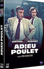 Jaquette Adieu poulet [Restauration Prestige - Blu-ray + DVD] t EPUISE/OUT OF PRINT