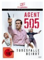 Jaquette Agent 505 - Todesfalle Beirut