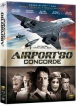 Jaquette Airport '80 : Concorde (Combo Blu-ray + DVD - �dition Prestige - Version Restaur�e)