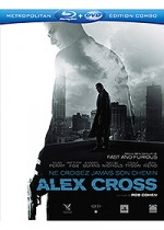Jaquette Alex Cross (Combo Blu-ray + DVD)