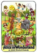 Jaquette Alice in Wonderland (R-rated) EPUISE / OUT OF PRINT