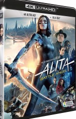 Jaquette Alita : Battle Angel - 4K Ultra HD + Blu-ray