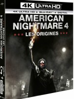 Jaquette American Nightmare 4 : Les Origines - 4K Ultra HD + Blu-ray + Digital