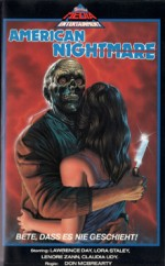 Jaquette American Nightmare EPUISE/OUT OF PRINT