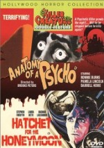 Jaquette ANATOMY OF A PSYCHO/HATCHET FOR THE HONEYMOON