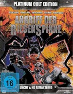 Jaquette Angriff der Riesenspinne (Blu-Ray+2DVD+CD) (4Discs)