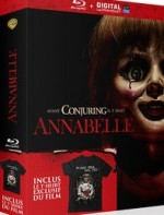 Jaquette Annabelle (Coffret Blu-ray + T-shirt)