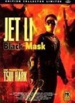 Jaquette ANTHOLOGIE JET LI BLACK MASK CLAWS OF STEEL TAI CHI MASTER