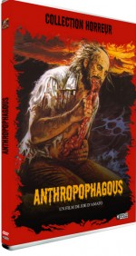 Jaquette Anthropophagous EPUISE/OUT OF PRINT