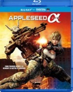 Jaquette Appleseed Alpha (Blu-ray + Copie digitale)