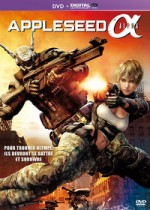 Jaquette Appleseed Alpha (DVD + Copie digitale)