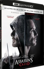 Jaquette Assassin's Creed - 4K Ultra HD + Blu-ray 3D + Blu-ray + Digital HD