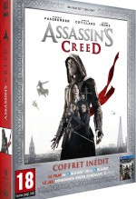 Jaquette Assassin's Creed - Édition Limitée Amazon.fr Blu-ray 3D + Blu-ray 2D + jeu PS4