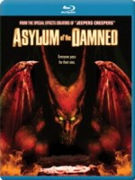 Jaquette Asylum of the Damned