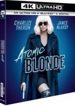 Jaquette Atomic Blonde (4K Ultra HD + Blu-ray)