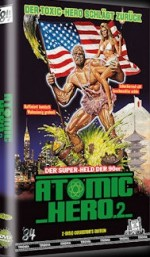 Jaquette Atomic Hero 2  (Toxic Avenger2) - große Hartbox (2DVD) - Limited 111 Edition