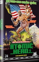 Jaquette Atomic Hero 2  (Toxic Avenger2) - kleine Hartbox (2DVD) - Limited 111 Edition