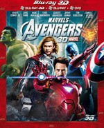 Jaquette  Avengers (Combo Blu-ray 3D + Blu-ray + DVD)