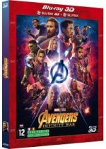Jaquette Avengers : Infinity War (Combo Blu-ray 3D + Blu-ray 2D)