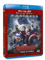 Jaquette Avengers : L'�re d'Ultron (Combo Blu-ray 3D + Blu-ray 2D)