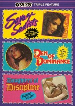 Jaquette Avon Triple Feature: Savage Sadists, Den of Dominance & Daughters of Discipline