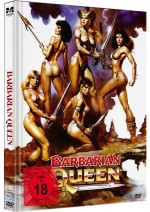 Jaquette Barbarian Queen (Blu-Ray+DVD)