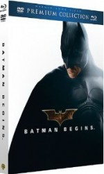 Jaquette Batman Begins - Collection Premium - Combo Blu-ray + DVD + livret