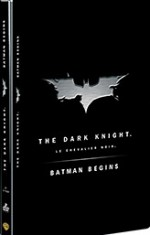 Jaquette Batman Begins + The Dark Knight (Edition limit�e)