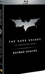 Jaquette Batman Begins + The Dark Knight (Edition limit�e- Blu-ray Disc)