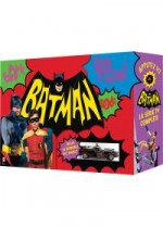 Jaquette Batman - La série TV complète - Blu-ray Édition collector limitée digipack musical - Batmobile Hot Wheels + Livret Scrapbook + Jeu 44 cartes EPUISE/OUT OF PRINT