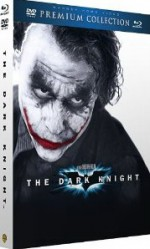 Jaquette Batman - The Dark Knight, le Chevalier Noir - Collection Premium - Combo Blu-ray + DVD + livret