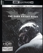 Jaquette Batman - The Dark Knight Rises [4K Ultra HD + Blu-ray]