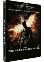 Jaquette Batman - The Dark Knight Rises (Ultimate Edition - Blu-ray + DVD + Copie digitale)