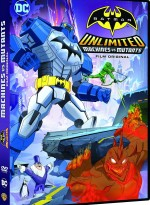Jaquette Batman Unlimited : Mech vs Mutants