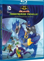Jaquette Batman Unlimited : Monstrueuse pagaille