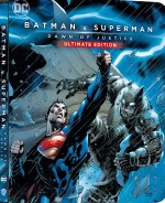 Jaquette Batman v Superman : L'aube de la justice 4K Ultra HD + Blu-ray - Édition boîtier SteelBook