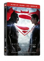 Jaquette Batman v Superman : L'aube de la justice (SteelBook Ultimate �dition - Blu-ray 3D + Blu-ray + DVD + Copie digitale)