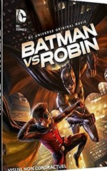 Jaquette Batman vs Robin