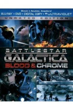 Jaquette Battlestar Galactica: Blood & Chrome