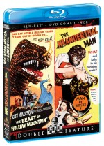 Jaquette Beast Of Hollow Mountain / The Neanderthal Man (Bluray/DVD Combo)