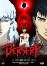 Jaquette Berserk L'Age d'Or partie II : La bataille de Doldrey (dition Limite)